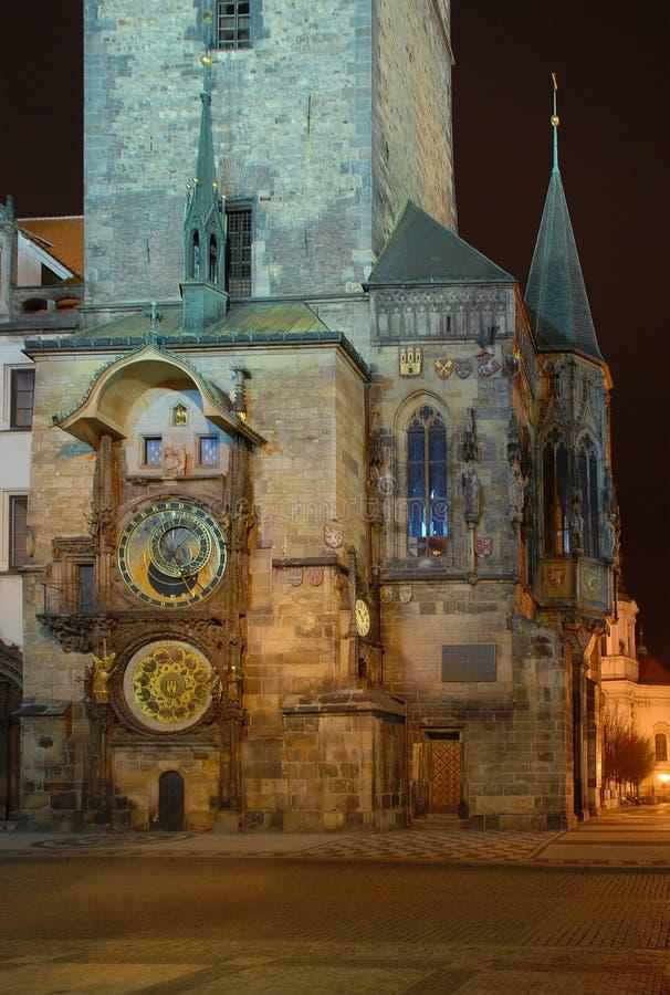 Torre de pulso de disparo de Praga fotos de stock