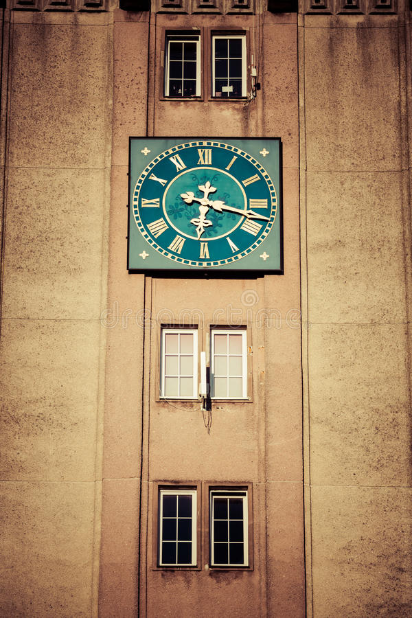 Torre de pulso de disparo do Wladyslawowo, Polônia fotos de stock