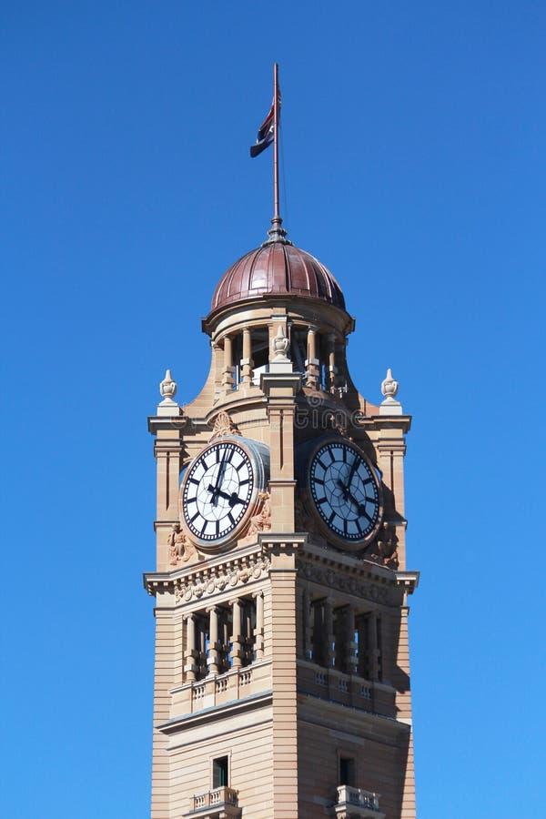 Torre de pulso de disparo Sydney imagem de stock