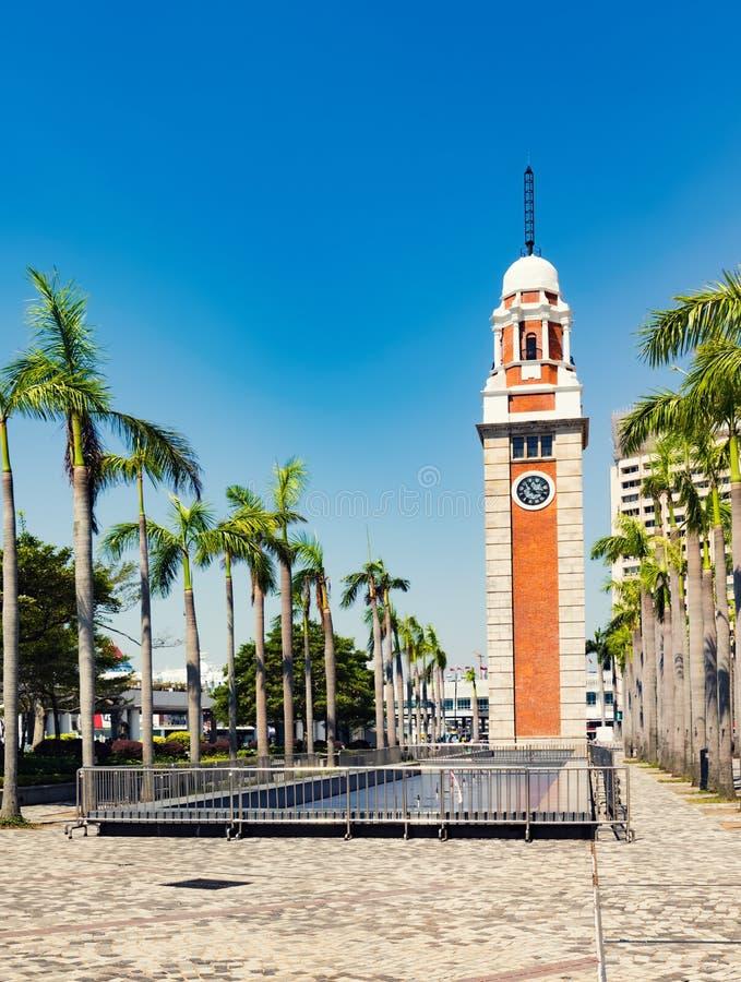 A torre de pulso de disparo Hon Kong imagem de stock royalty free