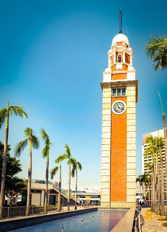A torre de pulso de disparo Hon Kong fotografia de stock
