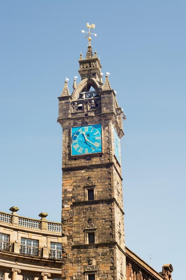 Torre de pulso de disparo no comerciante City de Glasgow, Escócia, Reino Unido imagem de stock royalty free