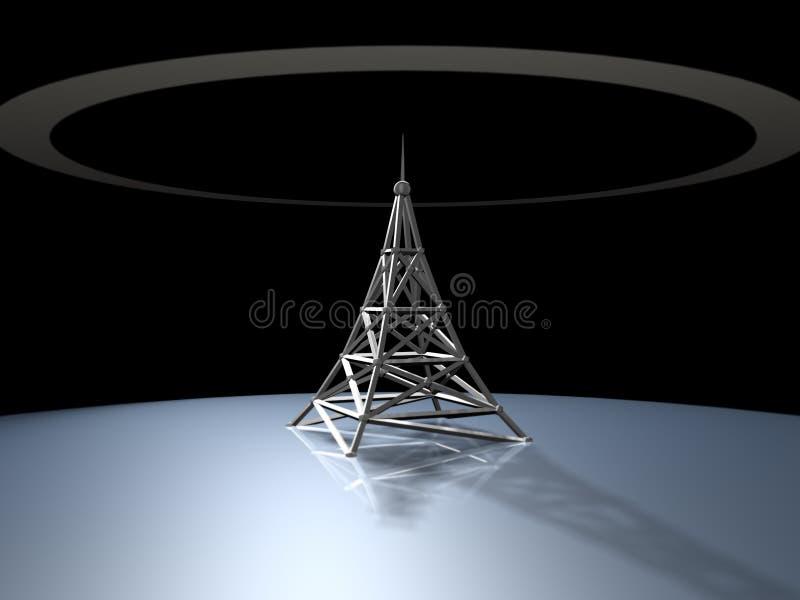 Torre de radio libre illustration