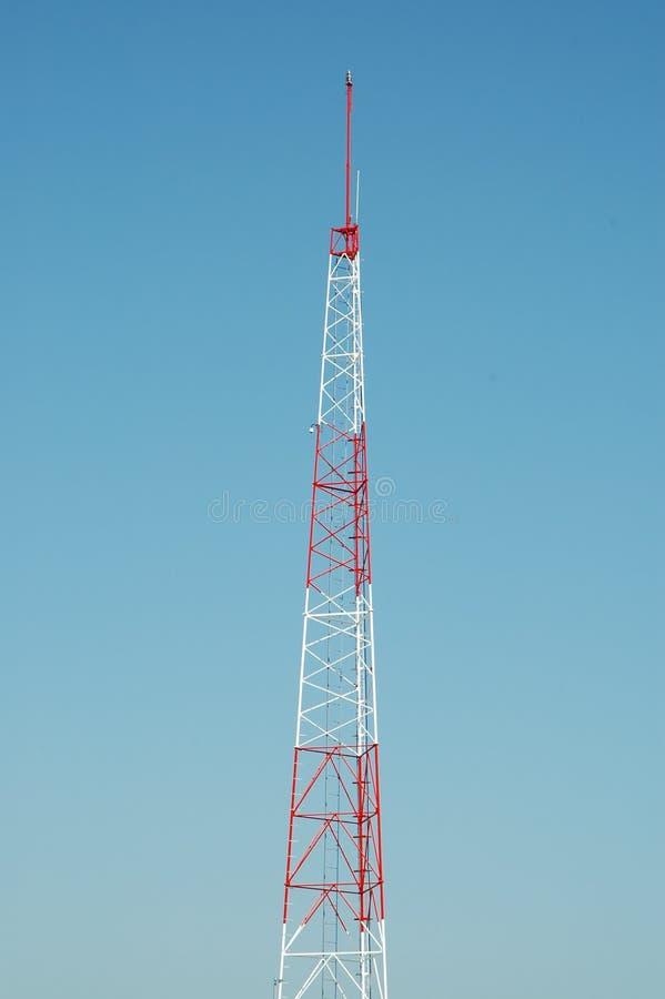 Torre de radio fotos de archivo