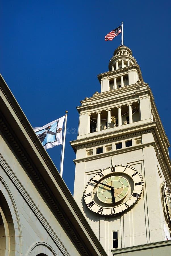 Torre de reloj imágenes de archivo libres de regalías