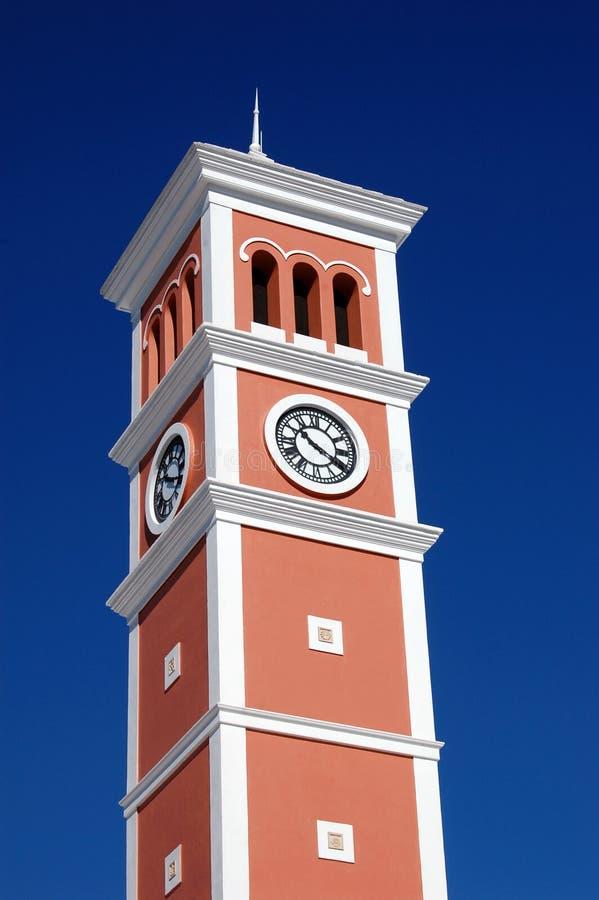 Torre de reloj alta imagen de archivo