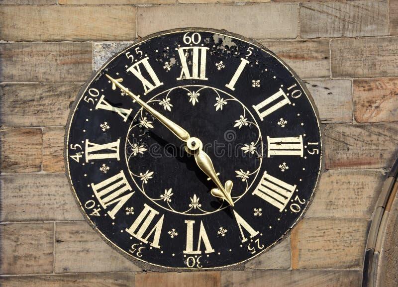 Torre de reloj antigua imagen de archivo