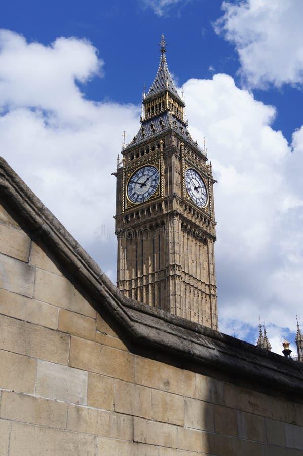 Torre de reloj de Bigben Londres imágenes de archivo libres de regalías
