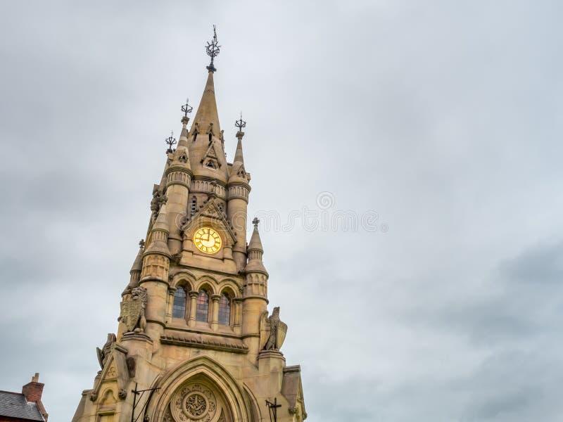 Torre de reloj de Stratford imágenes de archivo libres de regalías