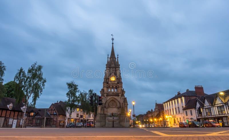 Torre de reloj de Stratford foto de archivo