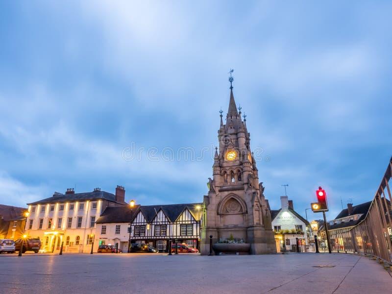 Torre de reloj de Stratford imagenes de archivo