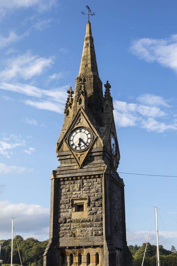 Torre de reloj en Waterford imagen de archivo