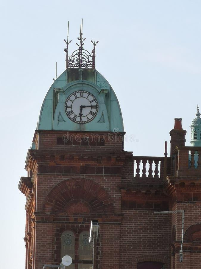 Torre de reloj de Gorleston foto de archivo