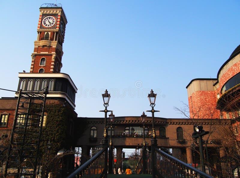 Torre de reloj Hokkaido imágenes de archivo libres de regalías