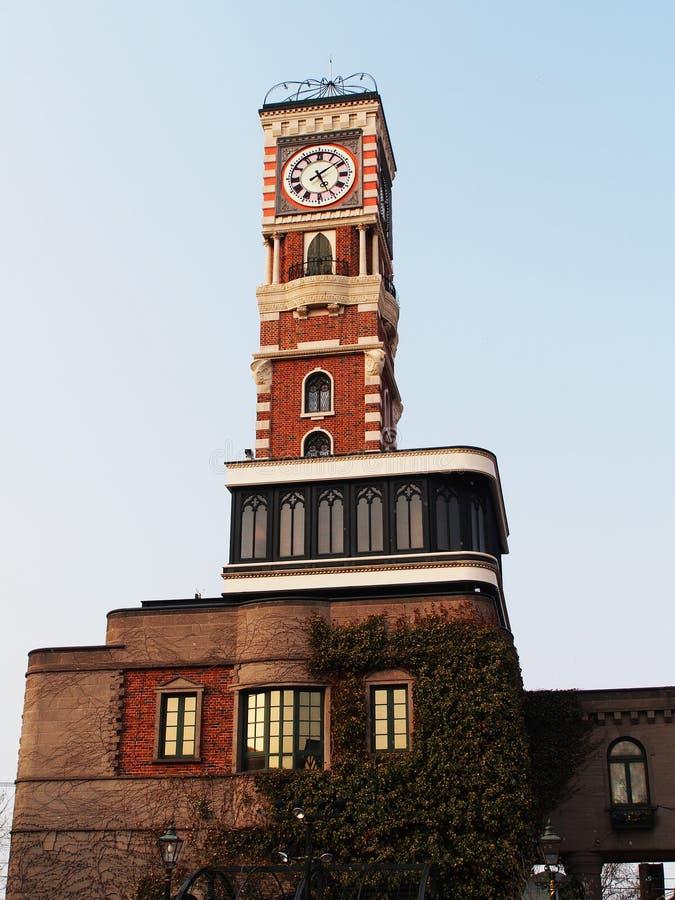 Torre de reloj Hokkaido foto de archivo libre de regalías
