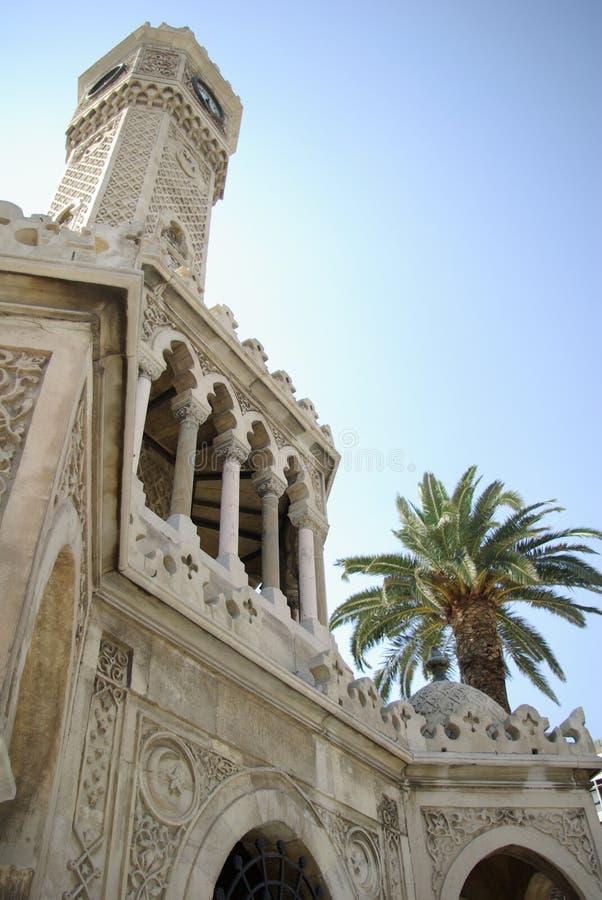 Torre de reloj turca imágenes de archivo libres de regalías