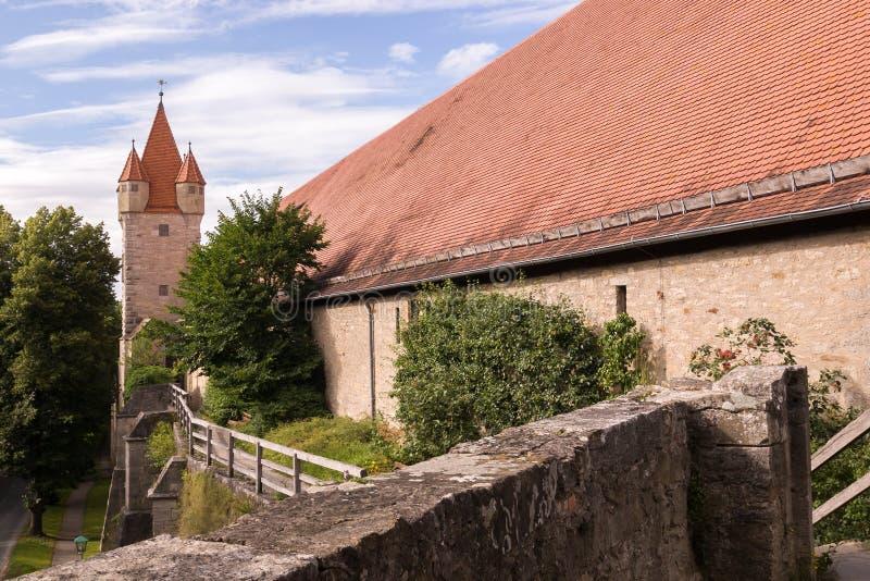 Torre de Rothenburg imagem de stock royalty free