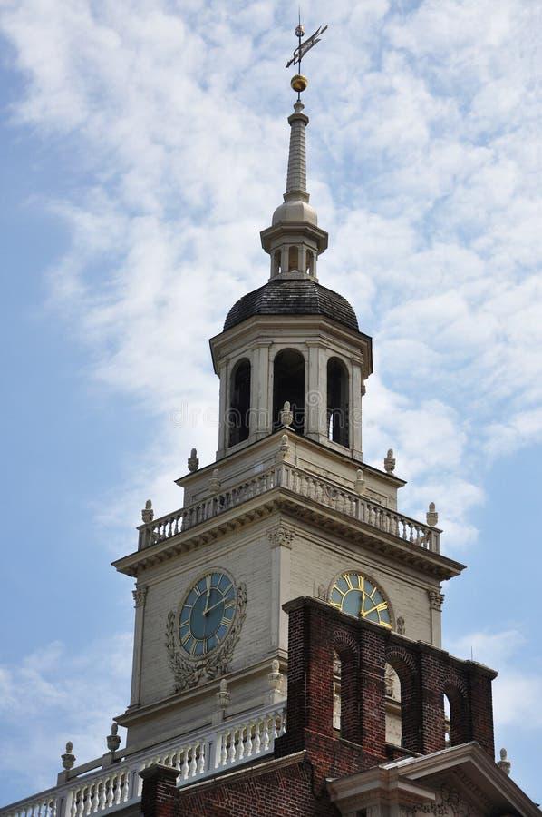 Torre de Salão Bell da independência imagem de stock royalty free