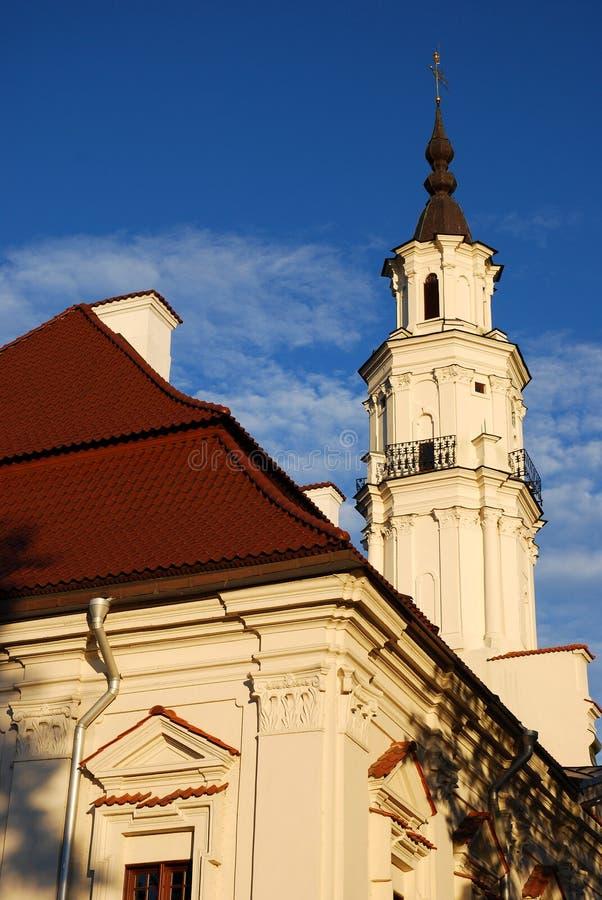 Torre de salão de cidade fotos de stock