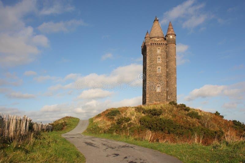 Torre de Scrabo foto de archivo