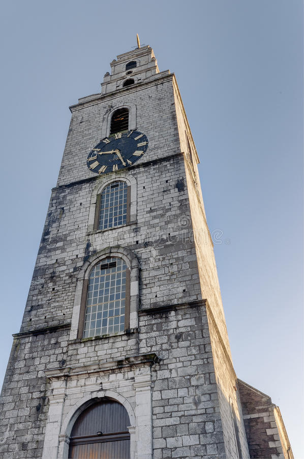 Torre de Shandon em Cork City, Irlanda foto de stock