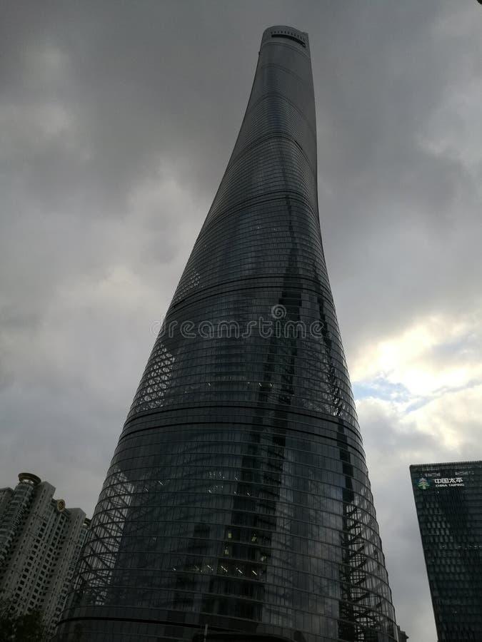 Torre de Shangai imagen de archivo