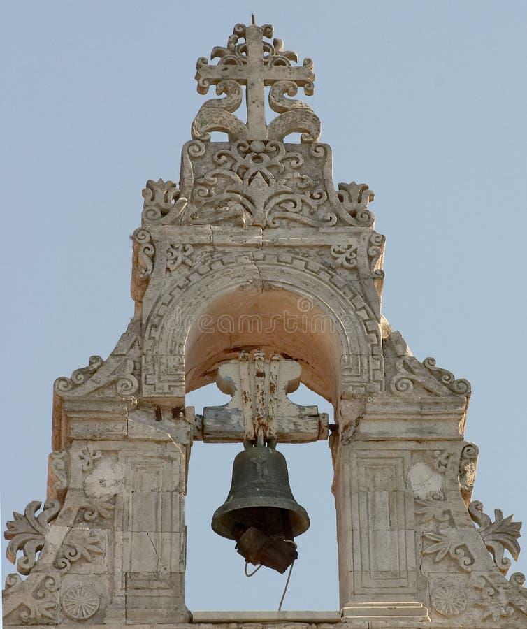Torre De Sino 1 Da Igreja De Argiroupolis Foto de Stock