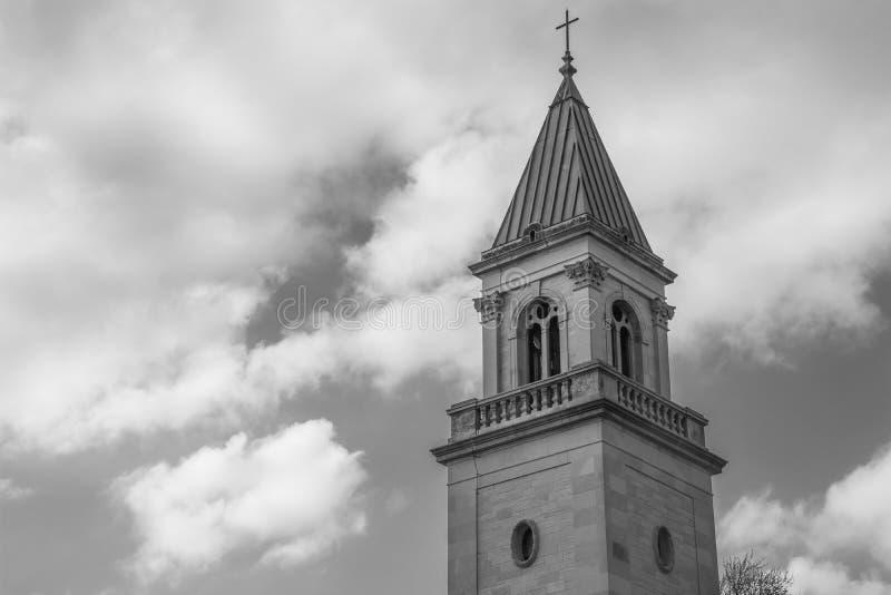 A torre de sino fotografia de stock royalty free