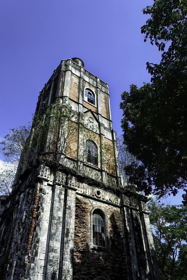 Torre de sino filipina imagens de stock royalty free