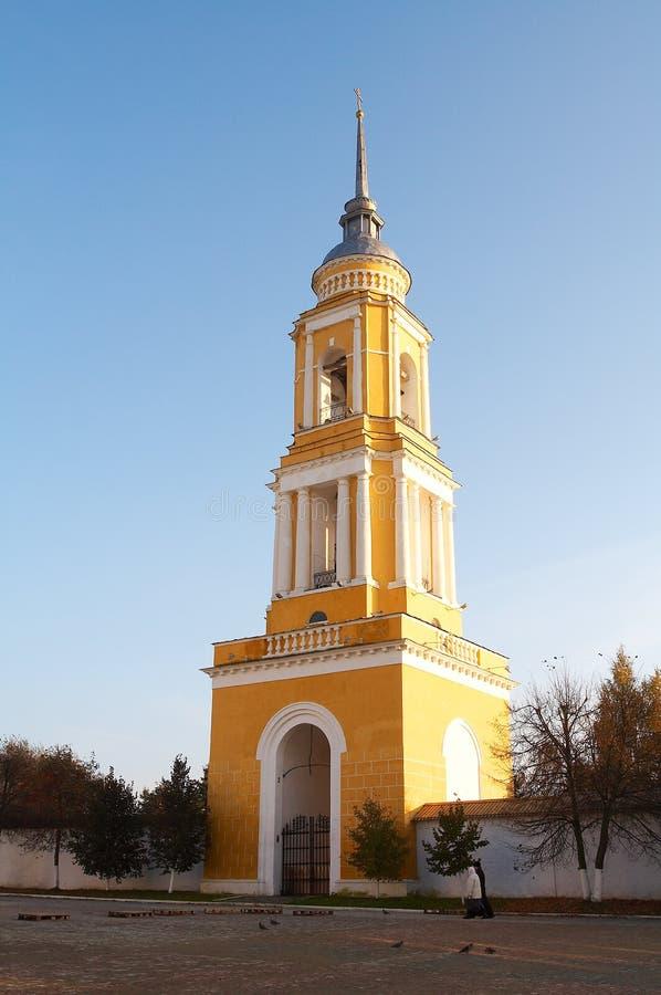 Torre de sino velha foto de stock