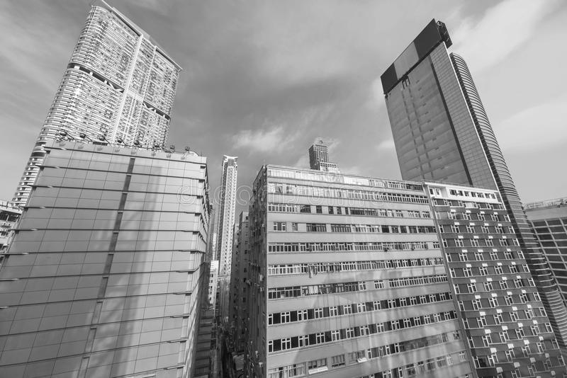 Torre de Skyraising imagenes de archivo