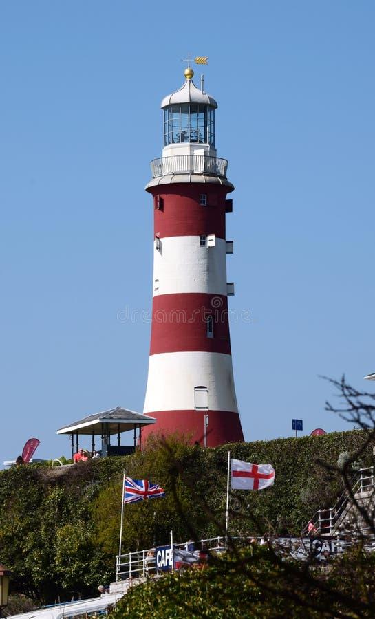 Torre de Smeatons, azada Reino Unido de Plymouth foto de archivo libre de regalías