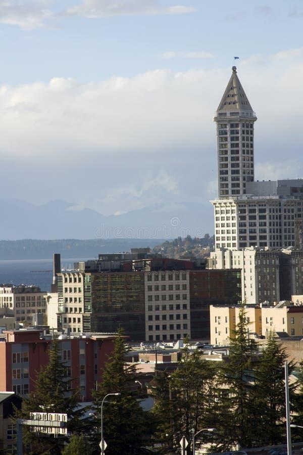 Torre de Smith, Seattle velho imagens de stock royalty free