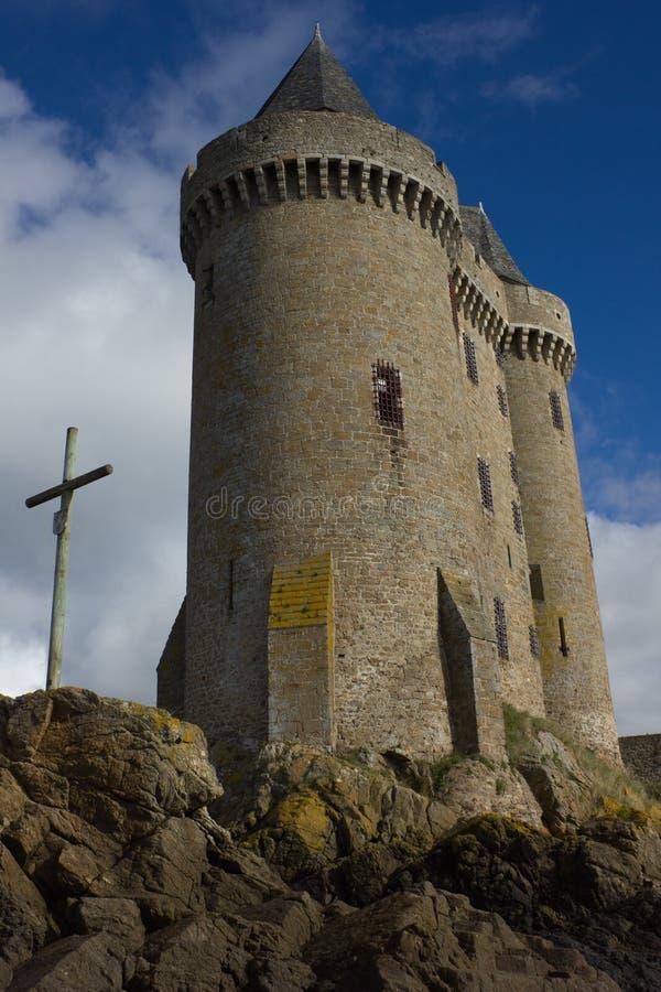 Torre de Solidor, Saint Malo, France imagem de stock royalty free