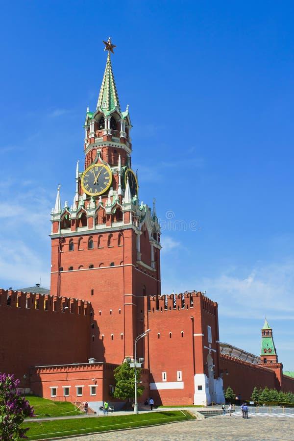 Download Torre De Spasskaya. Moscovo Imagem de Stock - Imagem de estrela, velho: 26500433