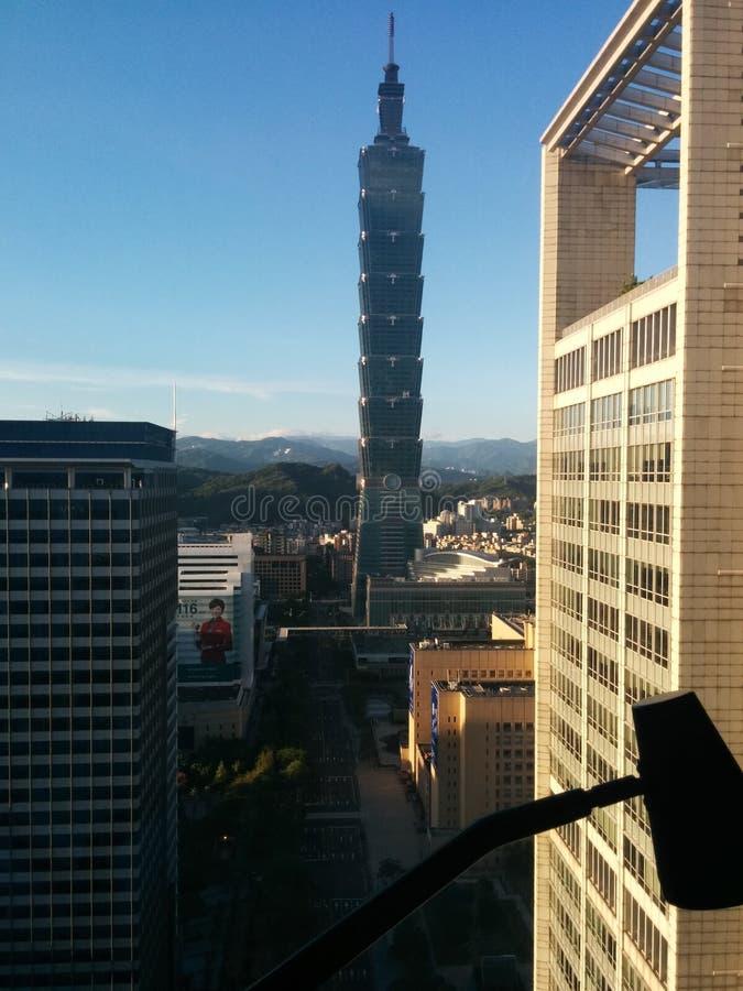 Torre 101 de Taipei foto de archivo libre de regalías