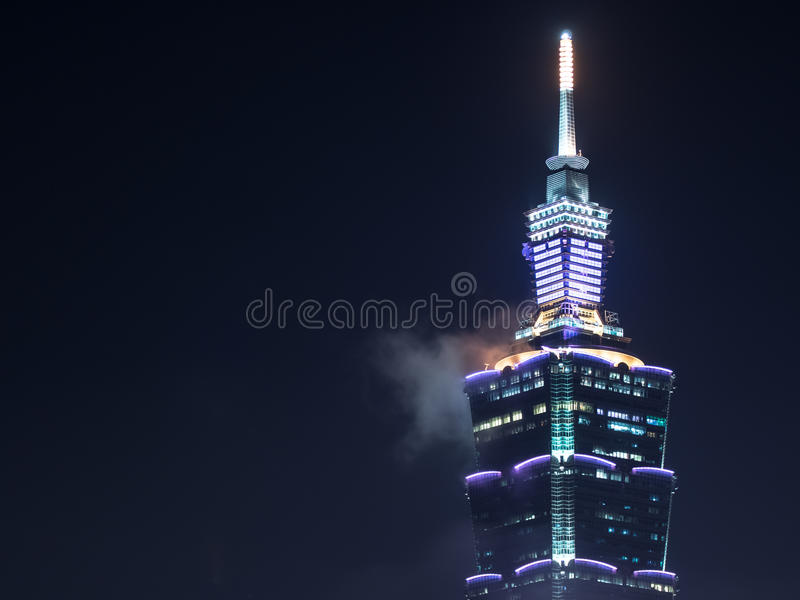 Torre de Taipei 101, Taiwan fotos de stock royalty free