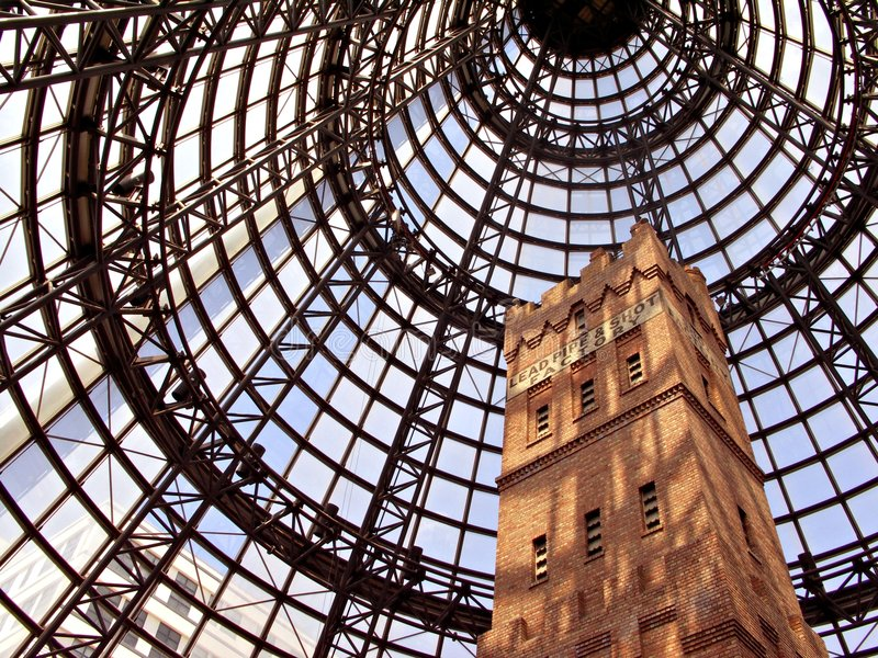 Torre de tiro foto de stock royalty free