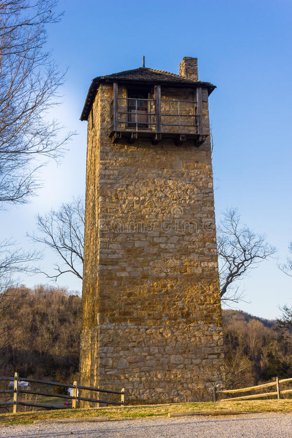 Torre de tiro imagen de archivo libre de regalías