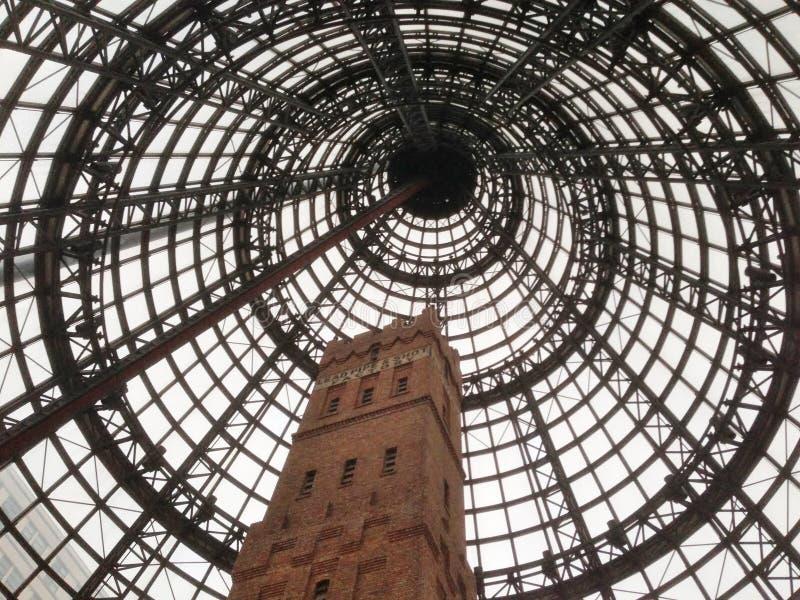 Torre de tiro histórica, Melbourne, Austrália imagem de stock