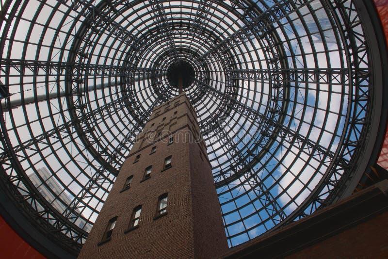 Torre de tiro Melbourne do ` s da capoeira imagens de stock
