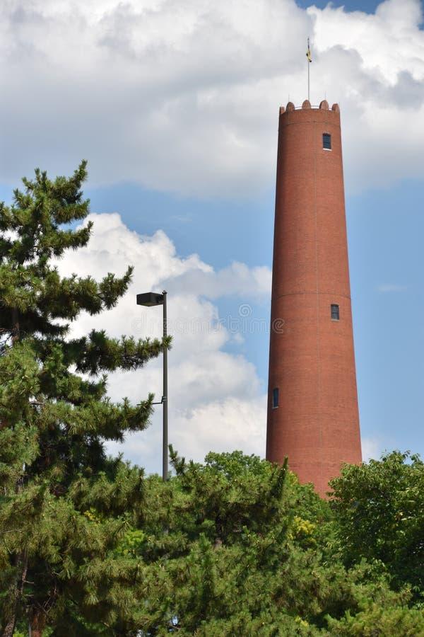 Torre de tiro de Phoenix em Baltimore, Maryland foto de stock royalty free