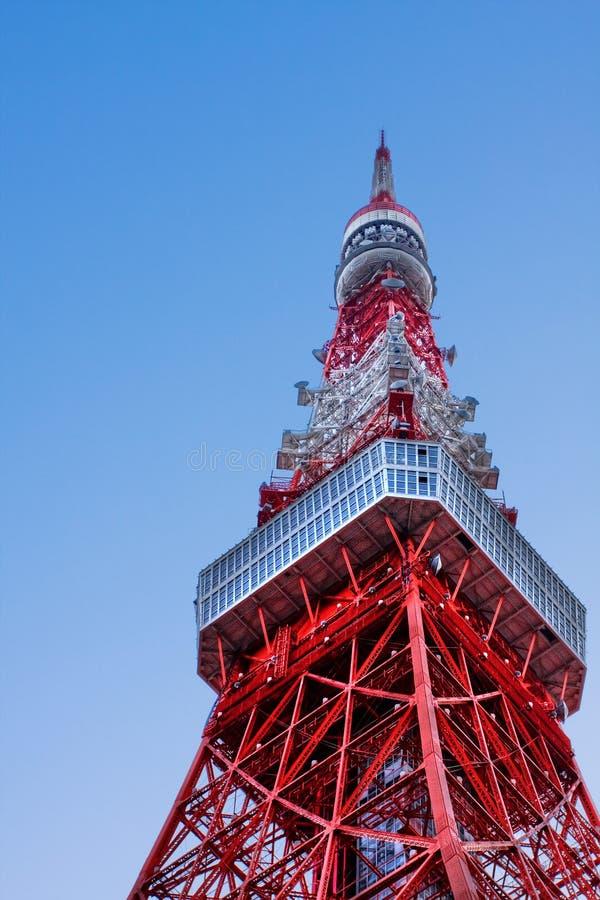 Torre de Tokio en HDR foto de archivo