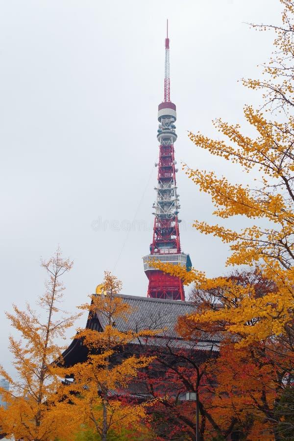 Torre de Tokio en Minato, Tokio, Japón fotos de archivo