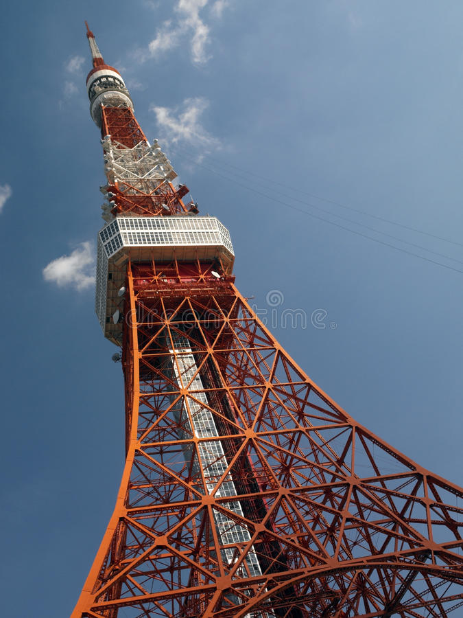 Torre de Tokio - Japón fotografía de archivo
