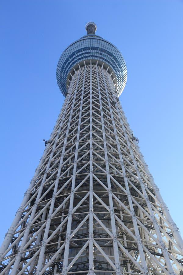 Torre de Tokio Skytree imágenes de archivo libres de regalías