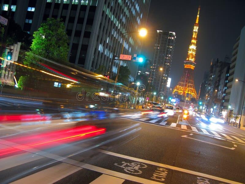 Torre de Tokyo imagem de stock