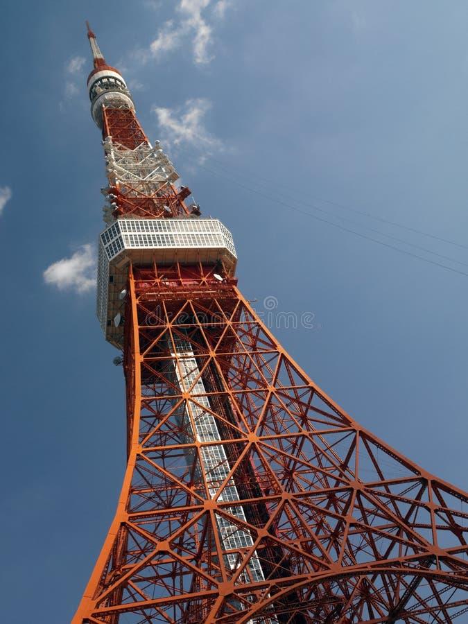 Torre de Tokyo - Japão fotografia de stock