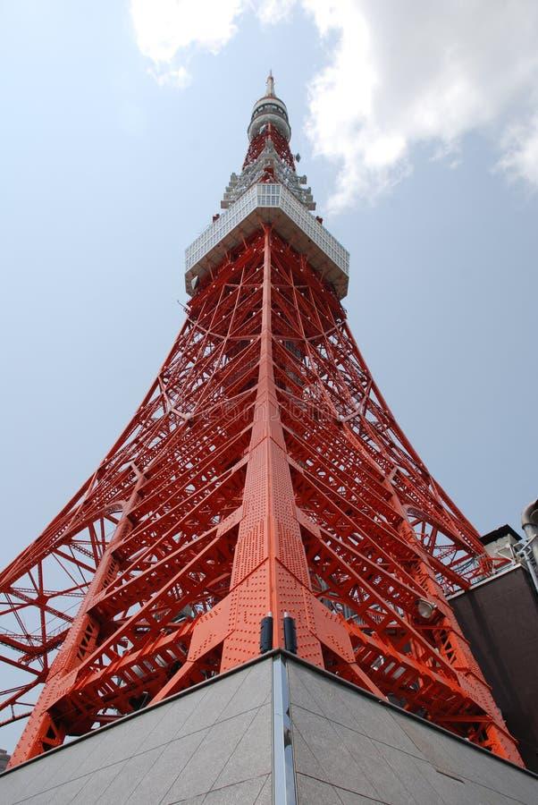 Torre de Tokyo, Japão imagem de stock