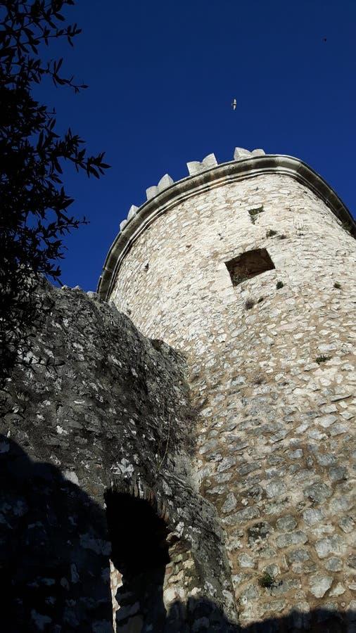 Torre de Trsat fotos de archivo